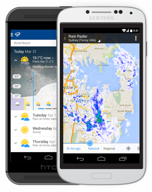 WillyWeather - Android App